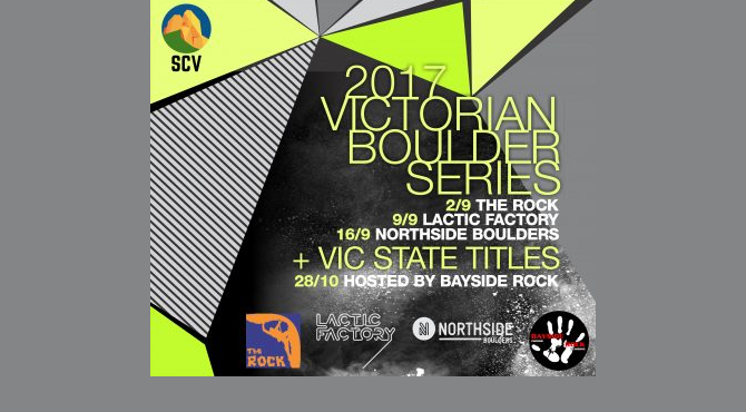 Victorian State Bouldering Titles
