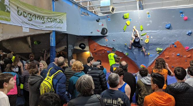Victorian State Boulder Titles – Results